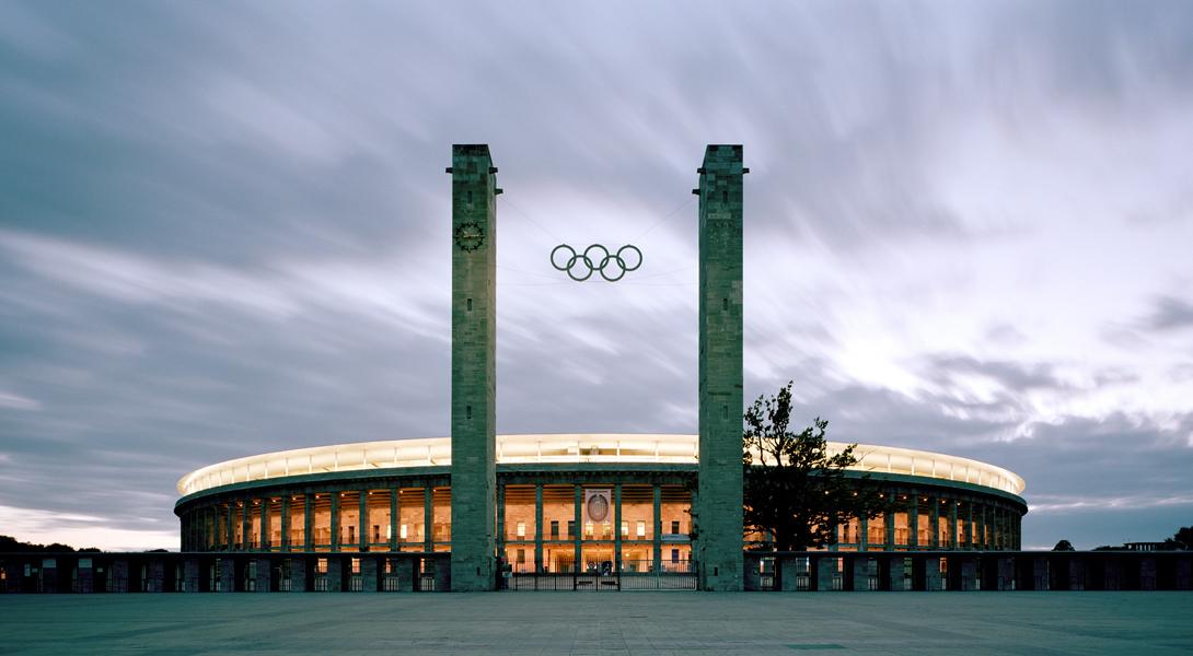 Olympiastadion Berlin Südtor