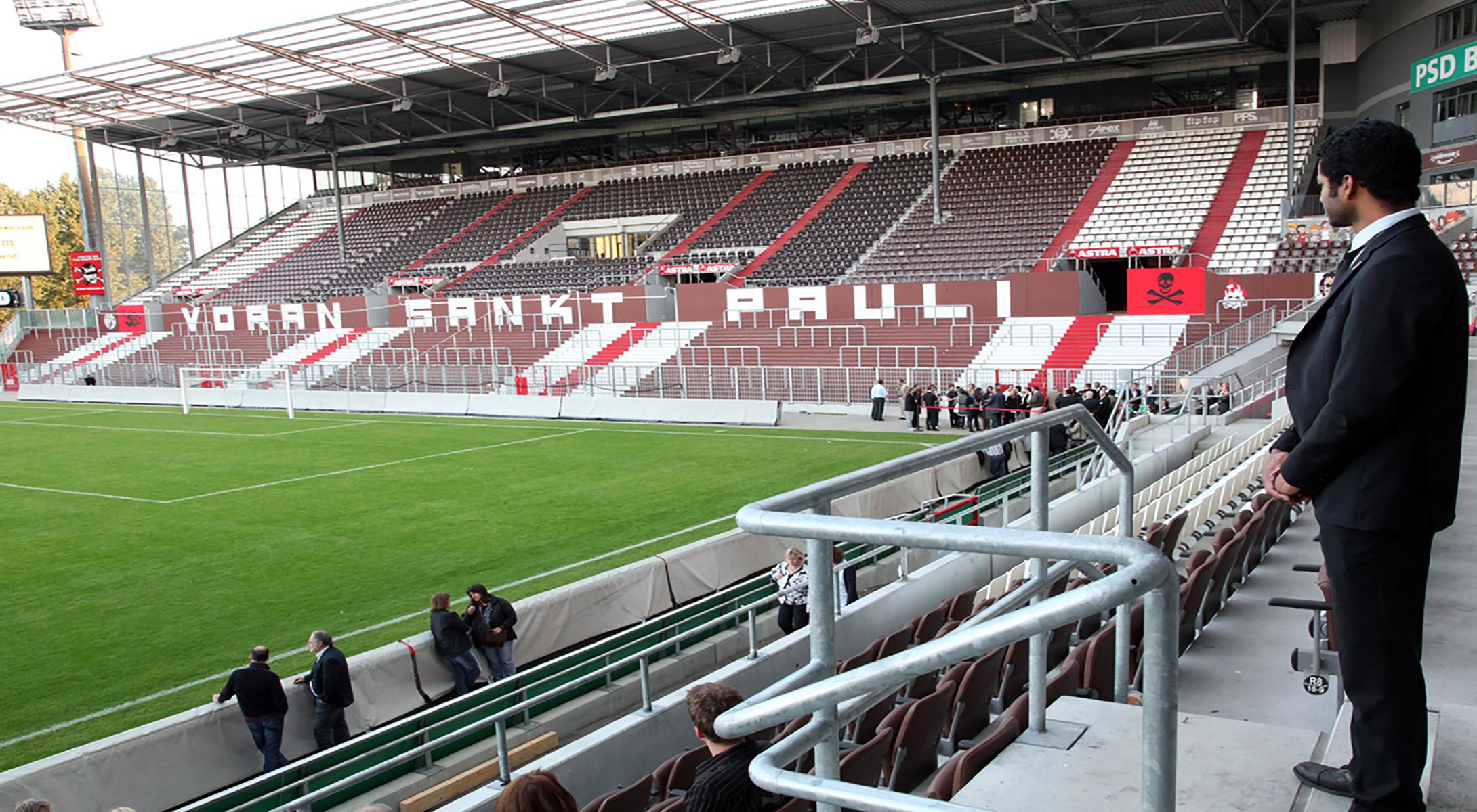 St Pauli Stadion Gästeblock
